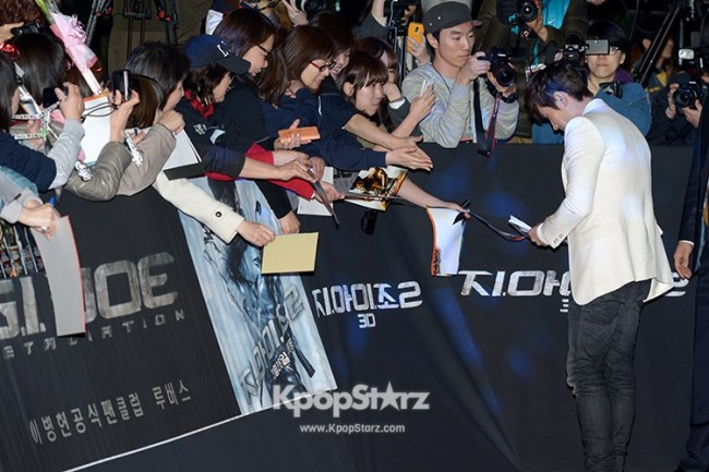 'G.I. Joe 2' World Premiere in Seoul key=>2 count21