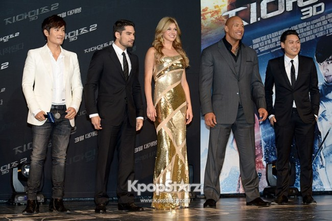 'G.I. Joe 2' World Premiere in Seoul key=>8 count21