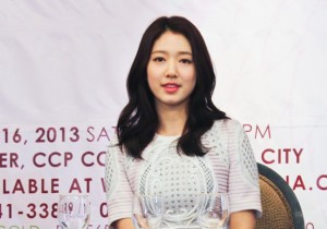 Park Shin Hye in Manila, Sweet as An Angel [PHOTOS]