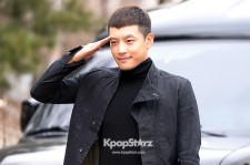 Se7en Entering army for Basic Training in Uijeongbu on March 19