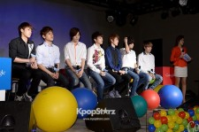 INFINITE Attend Their Comeback Press Conference on March 21, 2013 in Seoul