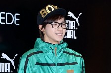 B1A4 (Jin-young, CNU, Sandeul, Baro, Gongchan) At PUMA SUEDE Launch Party in Seoul - March 22, 2013