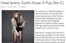 2NE1 CL Recognized as Global Fashionista, 'Interview with U.S. Elle Magazine'