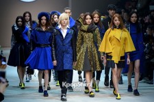 After School's Uee and NU'EST's Ren Grace the Runway at F/W 2013 Seoul Fashion Week
