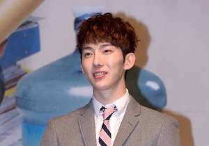 Jo Kwon Attends The KBS2 Drama 'The Queen of Office' Press Conference - March 25, 2013