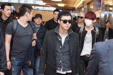 JYJ Heats up Airports in Korea and Japan for Tokyo Dome Tour, '1500 Fans Gather'