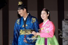 Kim Tae Hee and Yoo Ah In at 'Jang Ok Jeong, Live for Love' Press Conference