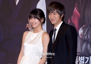 Suzy and Lee Seung Gi at 'Gu Family Book' Press Conference