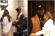CL and Will.I.Am went shopping together and were captured by a fan's photo