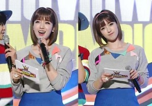 T-ara's Enjung Show Champion MC Captures