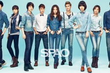 f(x) and Super Junior SPAO 2013 S/S Photoshoot