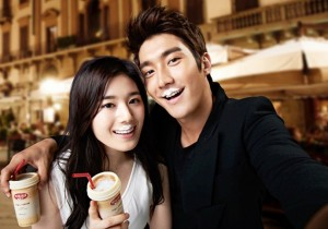 Super Junior Siwon for CaféLatte Endorsement