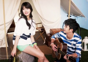 Suzy and Kim Soo Hyun for BeanPole Outdoor 2013 S/S Look Book
