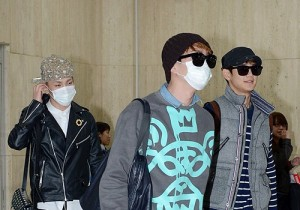 SHINee at Kimpo Airport Returns to Korea - April 4, 2013