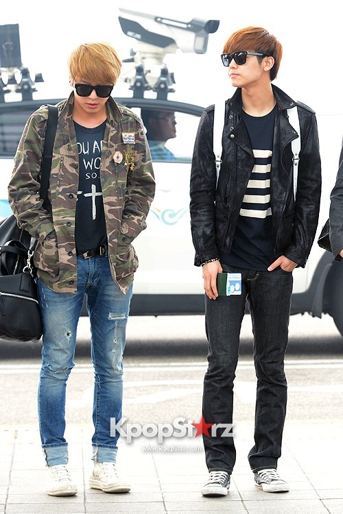CNBLUE Leaving for Blue Moon World Tour in Taiwan - April 5, 2013key=>0 count7