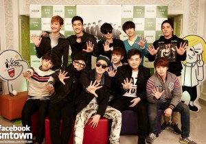 LINE Star Chatting with Super Junior