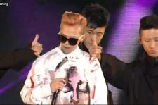 Big Bang's G-Dragon Performs at Psy's Happening Concert in Seoul