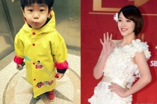 f(x) Sulli Reveals Baby Brother In a Yellow Poncho, 'So Cute'
