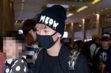 Super Junior M Returns to Korea from Beijing at Incheon Airport - April 15, 2013