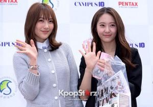 Kara's Kang Ji Young and f(x)'s Krystal - April 16, 2013