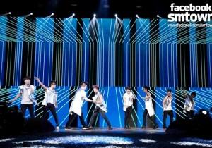 Super Junior Tour 'Super Show 5' in Sao Paulo in Brazil