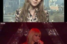 Girl group 2ne1 did a live interview with BBC