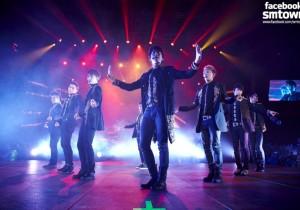 Super Junior World Tour 'Super Show 5' in Santiago, Chile - April 25, 2013