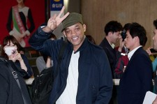 Will Smith, Jaden Smith Visit Korea for a Movie 'After Earth' Promotion