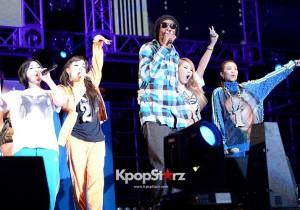 Unite all Originals Live with Snoop Dogg - 2NE1 May4, 2013
