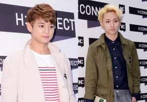 SHINee's Minho and Key H:CONNECT Opening Event - May 3, 2013