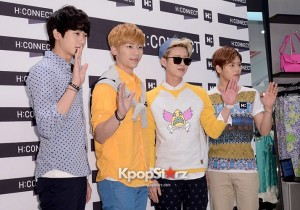 ZE:A H:CONNECT Flagship Store - May 3, 2013