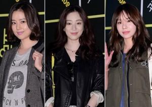 Moon Chae Won, Jung Ryu Won and Kim Ah Joong