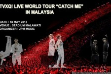 TVXQ Releases Live World Tour 'Catch Me' in Kuala Lumpur Promotion Video