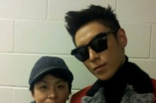 TOP and his mom