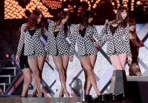 SISTAR Hyolyn, Bora, Soyou, Dasom Performing at 2013 Dream Concert