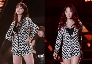 SISTAR's Soyou and Dasom Performance at '2013 Dream Concert'