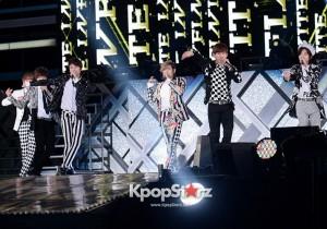 INFINITE Sung-kyu, Dong-woo, Woo-hyun, Hoya, Sung-yeol, L, Sung-jong Performing at 2013 Dream Concert