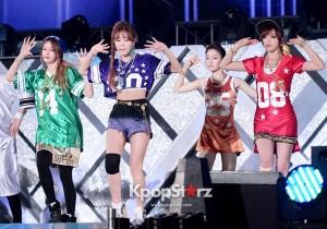 T-araN4 Eunjung, Hyomin, Jiyeon, Areum Performing at 2013 Dream Concert