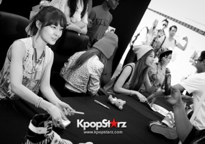 T-ARA N4 Cheerful At Impromptu Meet and Greet In Los Angeles [PHOTOS]