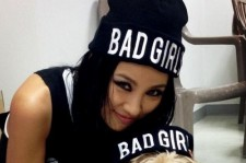 lee hyori bad girl picture with soonshim
