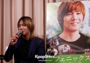FTISLAND's Lee Hong Ki at Press Conference of Movie Phoenix in Japan