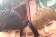 GLAM Dahee Picture With BEAST Yong Junhyung Before First Airing