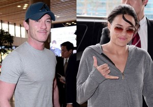 'Luke Evans' and 'Michelle Rodriguez' Visit Korea for 'The Fast and the Furious' Movie Promotions