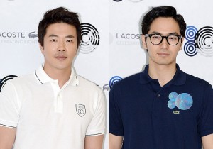 Kwon Sang Woo and Lee Jin Wook Attend