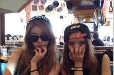 T-ara N4 Fooling Around on Set, 'Silly' in Los Angeles