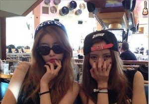 T-ara N4 Fooling Around on Set, 'Silly' in Los Angeles