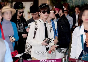 Teen Top Leaving For '2013 Teen Top No.1 Asia Tour' In Kobe, Japan - May 17, 2013