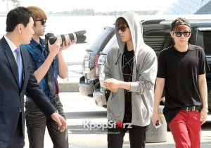 INFINITE Leaving For INFINITE Japan Special Event 'Welcome To Our Dream' in Osaka, Japan - May 17, 2013