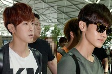 TVXQ Leaving For Live World Tour 'Catch Me' Concert In Kuala Lumpur, Malaysia  - May 17, 2013