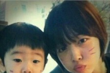 Sulli and Baby brother